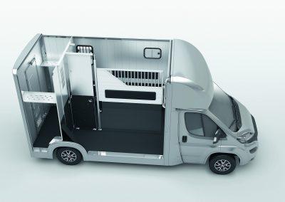Compact Stall mit geoeffnetem Dach_Seitenwand_Cam_Pferderaum_RZ_V01